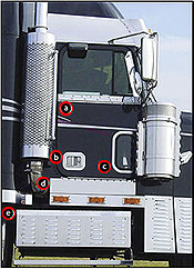 Freightliner Exterior Accessories