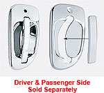 Freightliner Cascadia Exterior Door Handle Cover-Chrome Plastic