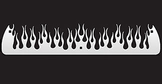 FLAMES Stainless Front Weights-18 or 16 Inch